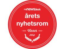 Vinner av Årets Nyhetsrom 2014
