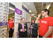 Vision Express opens new optical store at Tesco in Burnley with celebration led by national road safety campaigner