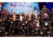 Rådhuskvarteret i Kristianstad vann Årets bygge 2015