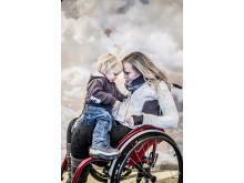 Annika Taesler med son