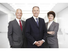 Executive Board (Herbert Marner, Gerald Böse, Katharina C. Hamma; v.l.n.r.)
