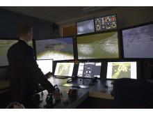 High res image - Kongsberg Digital - Kalmar Ship bridge simulator