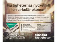 Skandia Fastigheter i Almedalen 2017