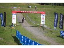 Scandinavian downhill hafjell målgang m-senior