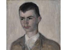 Portrait of the artist's brother Svend Hammershøi