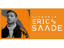 Eric Saade turné våren 2018