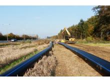 Nya huvudvattenledningar i Helsingborg