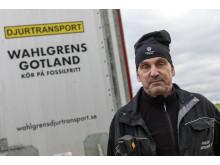 Erik Levander och Maria Eriksson på Bols Gård i Havdhem på södra Gotland deltar i Smak av Gotlands projekt Fossilfritt kött.