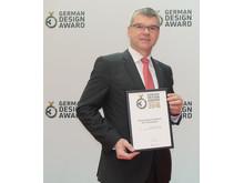Utmärkelse till ebm-papst på stor internationell designtävling