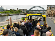 NewastleGateshead Toon Tour at Newcastle Quayside