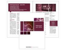 Högupplöst bild av Novoteks delårsrapport jan-mars 2014