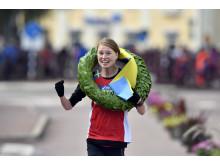 Lisa Ring från IK Nocout.se vann Ultravasan 45 i konkurrens med 243 andra startande damer