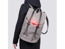 Minilampa Eclipse, ryggsäck