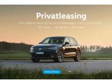 Volkswagen Tiguan är en populär bil för privatleasing