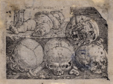 Barthel Beham, Fyra dödskallar och ett spädbarn