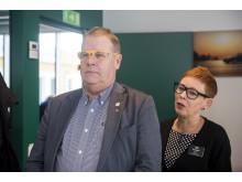 Leif Petterson (S) ledamot i riksdagens trafikutskott genomför ett syntest – Synbesiktningen 2016