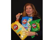 Ulrika Sten, Kommunikationschef Orkla Confectionery & Snacks