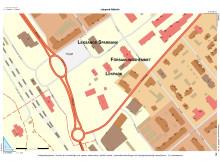 Karta Rättviks nya lekpark