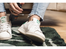 Fräscha sneakers längre_skydda