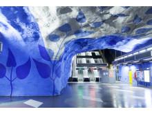 T-Centralen. Konstnär Per-Olov Ultvedt. Foto Markus Hallberg