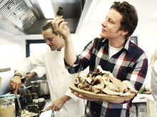 Jamie Oliver cooking at Scandic