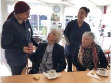 Marea D'Amato, Ann-Britt Lund, Yorika Zammit och Anita Larsson.