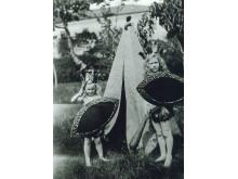 Nils och Thure Bonde, barn på slottet för hundra år sedan