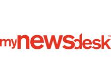 Mynewsdesk logo - red logo