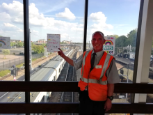 Jason Glenister, Bedford station assistant
