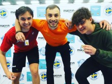 Student-SM i badminton, herrar singel pristagare