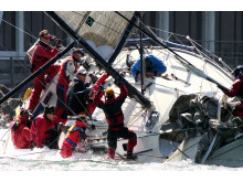 High res image - Interform Marine - KiwiGrip on Racing Yacht