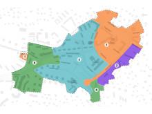 Karta utbyggnadsetapper