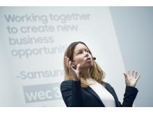 Hilde Wikström at Samsung