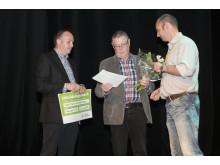 Innovativa Dewatech tilldelas Gästrike återvinnares jubileumspris