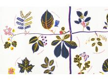 Textile print US Tree by Josef Frank