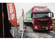Høje-Taastrup Transportcenter: Her kan gaskøretøjer nu tanke grøn biogas