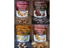 Flapjacks och småkakor – goda och glutenfria