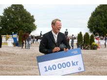 Peder Fredricson vann Volkswagen Grand Prix