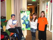 Schüler der Evangelischen Oberschule Lunzenau veranstalten kleines Kulturprogramm im Kinderhospiz