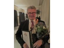 SÖRABs VD Johan Lausing efter prisutdelningen