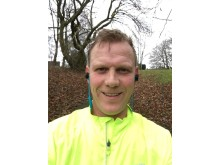 CALM runner Jonathan Stanger
