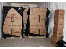 Op Quadrant Boxes of smuggled cigarettes