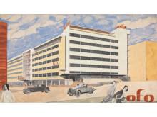 Byggekunst. Blakstad og Munthe-Kaas, Odd Fellow-gården, 1931