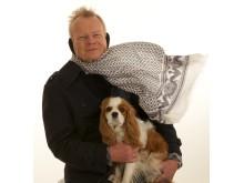 Windfree på man med hund