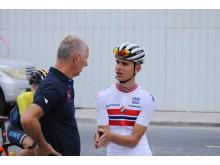 Iver Knotten under sykkel-VM 2016