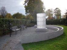 Kristallpelare, askgravlund i Malmö