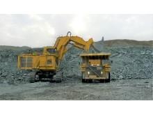 (7) Komatsu PC 8000-6 (752 ton) // (16,9 metre)
