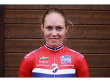 Stine Borgli på sykkellandslaget 2017