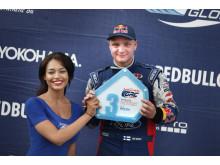 Fordin Joni Wimanille kauden ensimmäinen palkintopallisija Barbadoksella