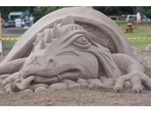 Kalmars internationella sandskulpturfestival